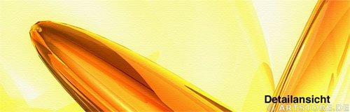 Wandbild Jack Dyrell GOLDEN HARMONY Detailausschnitt