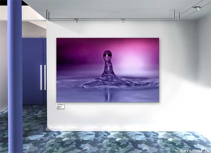 Wandbild Jack Dyrell HOT DROP Wohnbeispiel