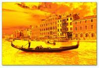 Wandbilder Jack Dyrell GOLDEN VENEZIA