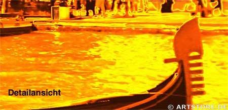 Wandbild Jack Dyrell GOLDEN VENEZIA Detailausschnitt