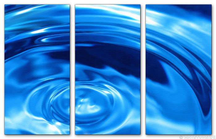 Wandbild Jack Dyrell BLUE RAZER