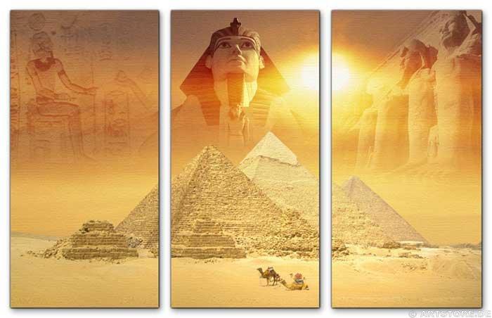 Wandbild Jack Dyrell ÄGYPTEN EDITION