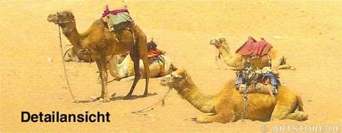Wandbild Jack Dyrell ÄGYPTEN EDITION Detailausschnitt