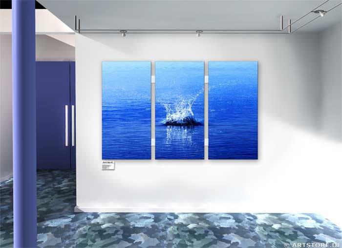 Wandbild Jack Dyrell BIG SPLASH Wohnbeispiel