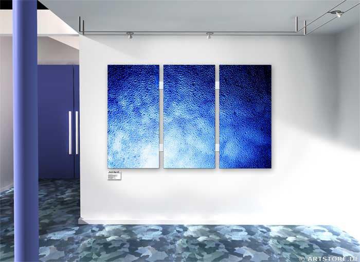 Wandbild Jack Dyrell MILLIONS OF WATER DROPS Wohnbeispiel