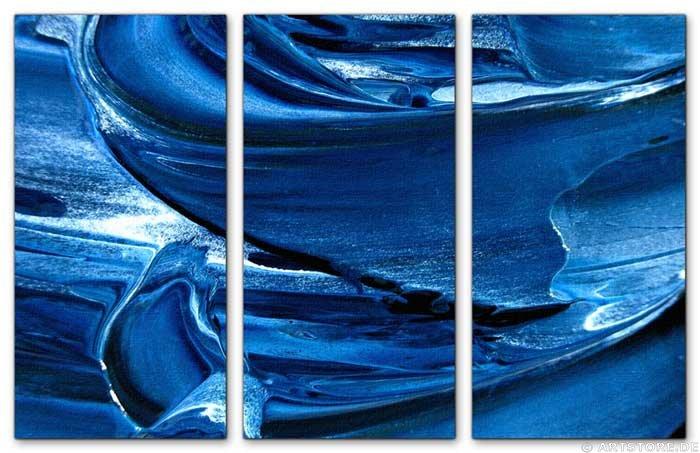 Wandbild Jack Dyrell BLUE SPIRIT