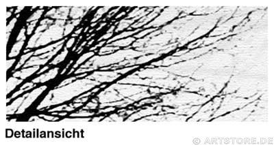 Wandbild Jack Dyrell STRONG TREE Detailausschnitt