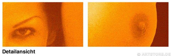 Wandbild Jack Dyrell FLASH DANCE Detailausschnitt