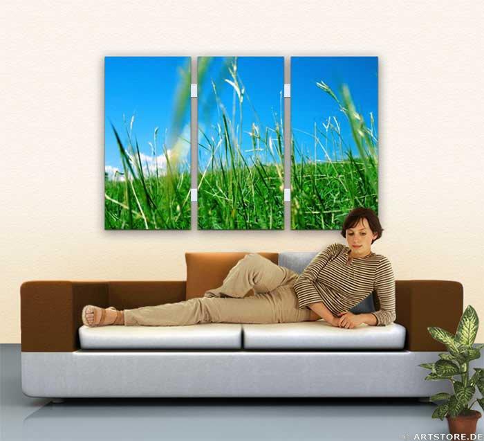 Wandbild Jack Dyrell SPRING FEELINGS Wohnbeispiel