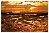 Wandbilder Jack Dyrell BIG GOLDEN SUNSET