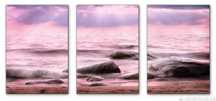 Wandbild Jack Dyrell FLOWING SUNRISE