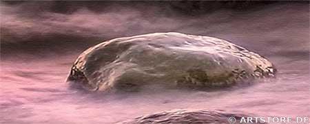 Wandbild Jack Dyrell FLOWING SUNRISE Detailausschnitt