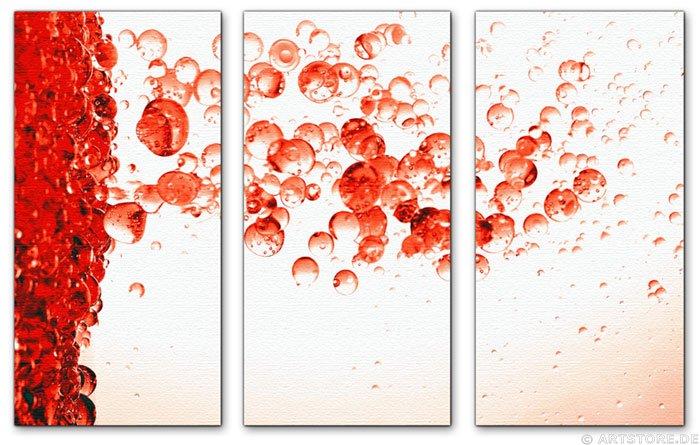 Wandbild Jack Dyrell RED DROPS