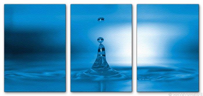 Wandbild Jack Dyrell BIG BLUE DROP
