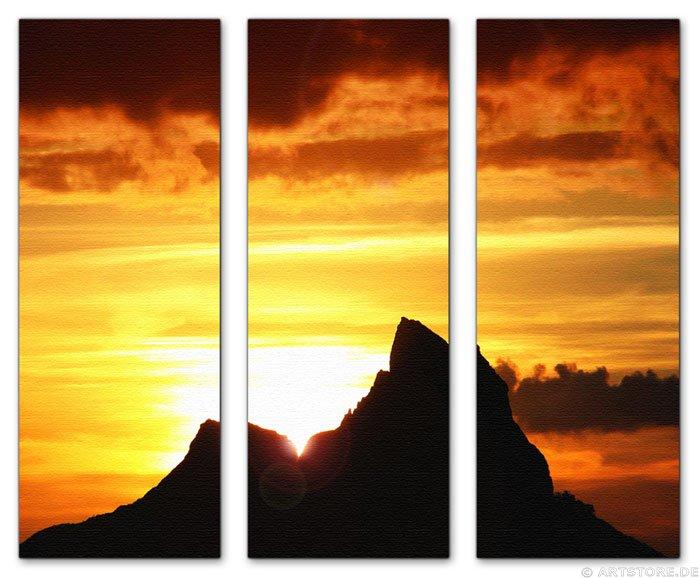 Wandbild Jack Dyrell K2 SUNRISE