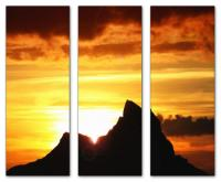 Wandbilder Jack Dyrell K2 SUNRISE