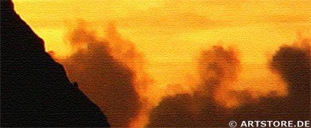 Wandbild Jack Dyrell K2 SUNRISE Detailausschnitt