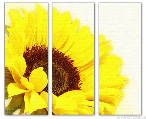 Wandbild Jack Dyrell SUNFLOWER EDITION