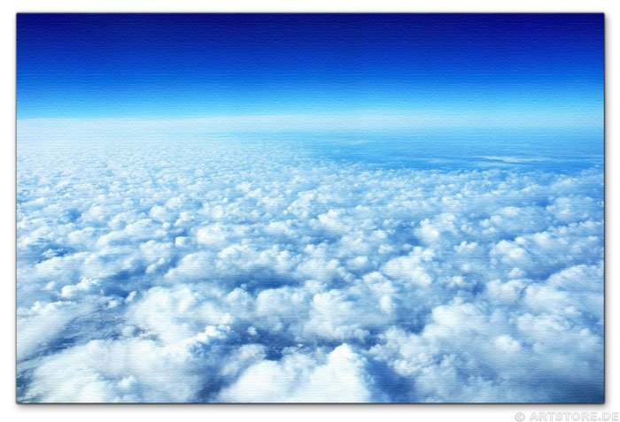 Wandbild Jack Dyrell OVER THE SKY