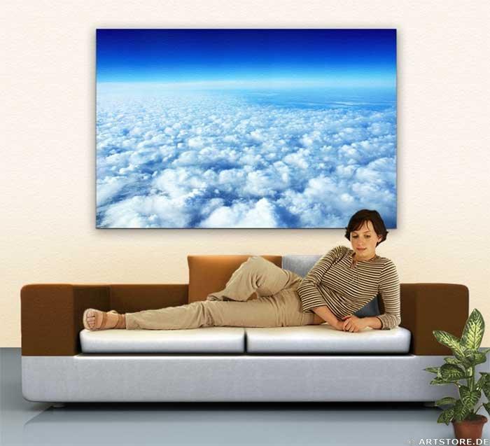 Wandbild Jack Dyrell OVER THE SKY Wohnbeispiel