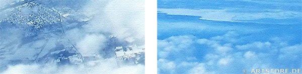 Wandbild Jack Dyrell OVER THE SKY Detailausschnitt