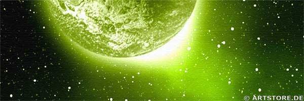 Wandbild Jack Dyrell PANORAMIC UNIVERSE Detailausschnitt
