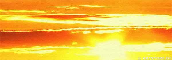 Wandbild Jack Dyrell SUNRISE PAMORAMA Detailausschnitt