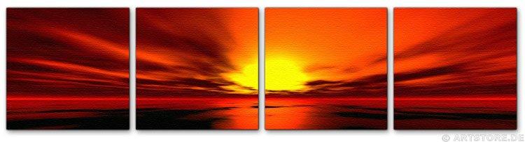 Wandbild Jack Dyrell PANORAMIC SUNSET