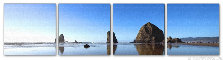 Wandbild Jack Dyrell CANNON BEACH - OREGON