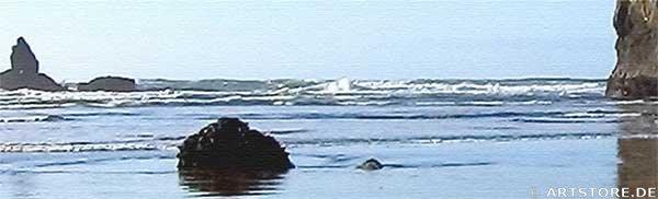 Wandbild Jack Dyrell CANNON BEACH - OREGON Detailausschnitt