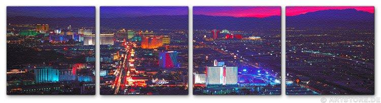 Wandbild Jack Dyrell LAS VEGAS - SKYLINE USA