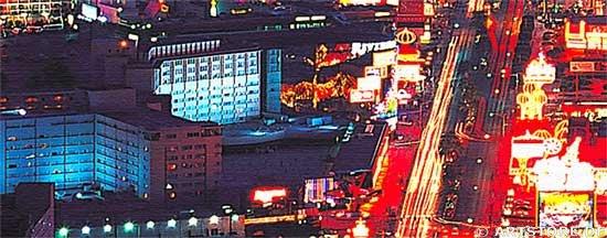 Wandbild Jack Dyrell LAS VEGAS - SKYLINE USA Detailausschnitt