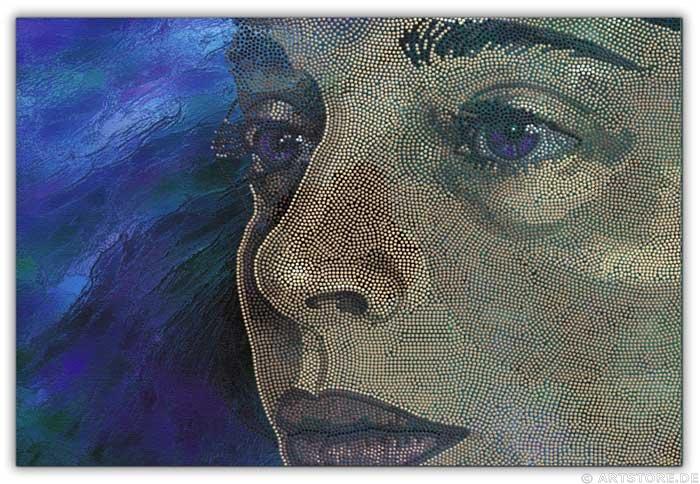 Wandbild Jack Dyrell SINGULARLY WOMAN