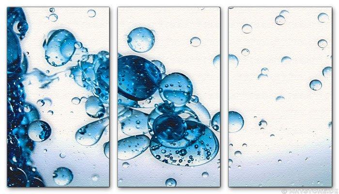 Wandbild Jack Dyrell BLUE DROPS - EDITION