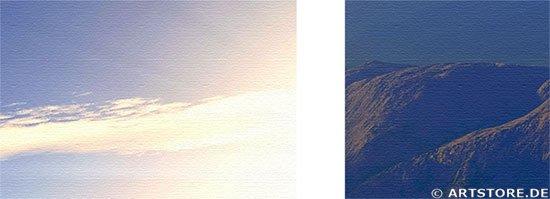 Wandbild Jack Dyrell NEW DAY - EDITION Detailausschnitt