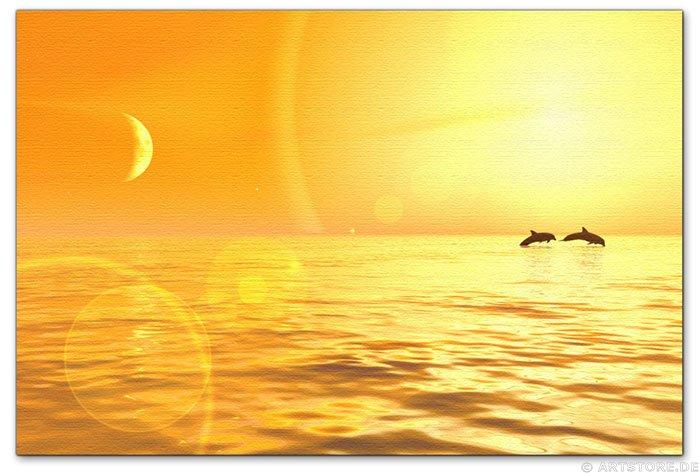 Wandbild Jack Dyrell COSTA DEL SOL - SUNSET