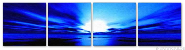 Wandbild Jack Dyrell PANORAMIC BLUE