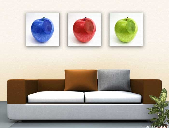 Wandbild Jack Dyrell APPLE COLLECTION Wohnbeispiel