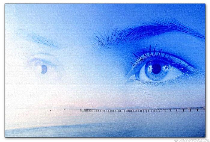 Wandbild Jack Dyrell I MISS YOU - SEHNSUCHT