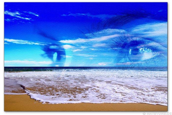 Wandbild Jack Dyrell NEED YOU - SEHNSUCHT