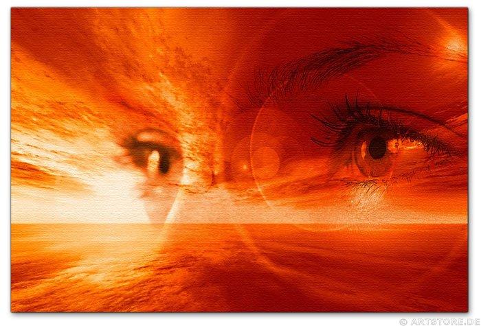 Wandbild Jack Dyrell DEEP FEELINGS - SEHNSUCHT