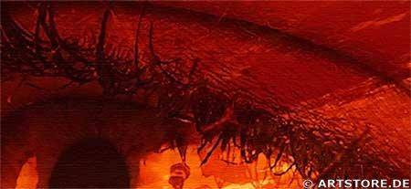 Wandbild Jack Dyrell DEEP FEELINGS - SEHNSUCHT Detailausschnitt