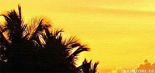 Wandbild Jack Dyrell BALI - SUNSET Detailausschnitt