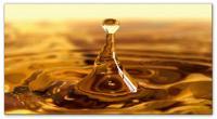 Wandbilder Jack Dyrell GOLDEN DROP - GOLD