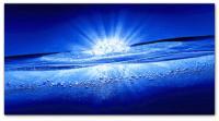 Wandbilder Jack Dyrell BLUE WATER EXPLOSION