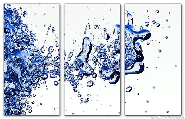 Wandbild Jack Dyrell LIQUID BLUE