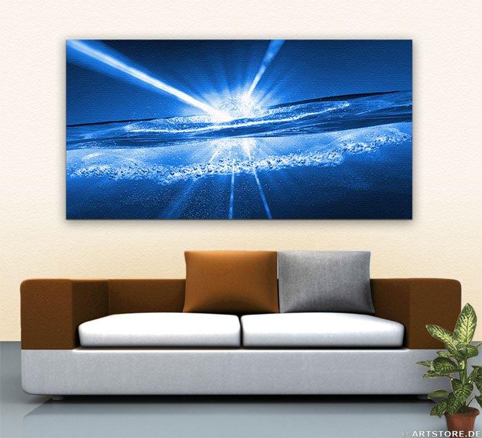 Wandbild Jack Dyrell WATER ENERGY - BIG Wohnbeispiel