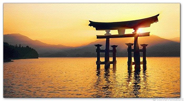 Wandbild Jack Dyrell TORI JAPAN - BIG GOLD