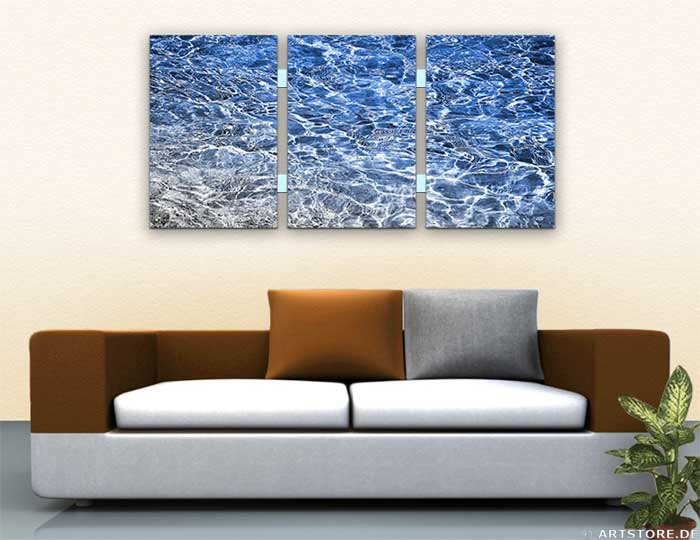 Wandbild Jack Dyrell FRESH WATER - EDITION Wohnbeispiel