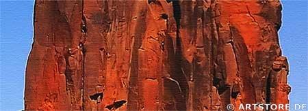 Wandbild Jack Dyrell MONUMENT VALLEY - EDITION Detailausschnitt